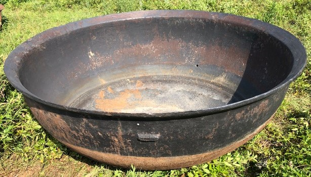 100 Gallon Cast Iron Syrup Kettle